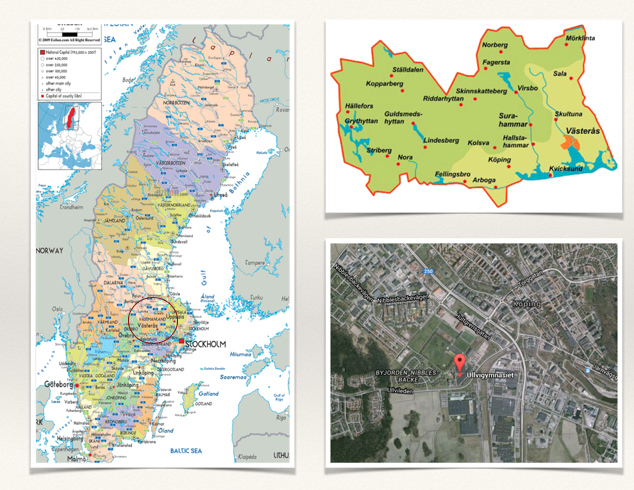 Koping sur la carte