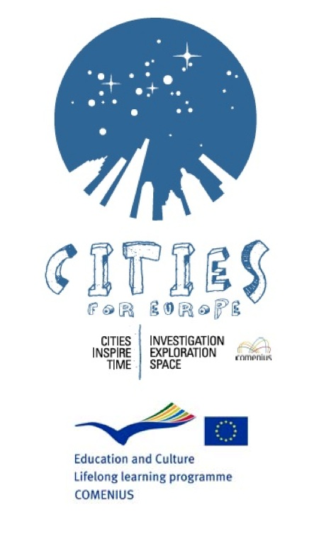 logo comenius CITIES