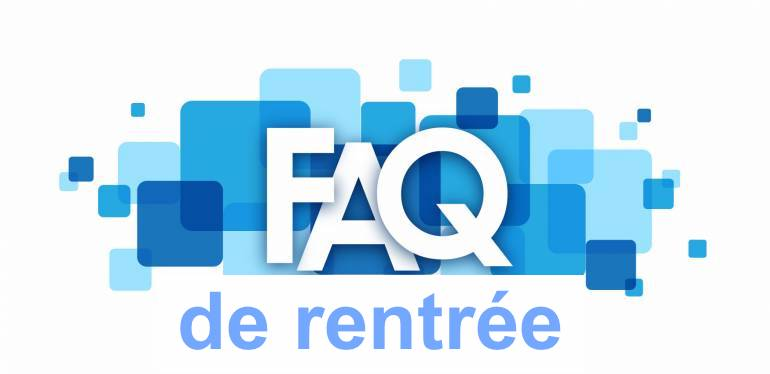faq rentree 2020